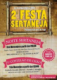 2ª Festa Sertaneja da Paróquia São José de Tupi:
