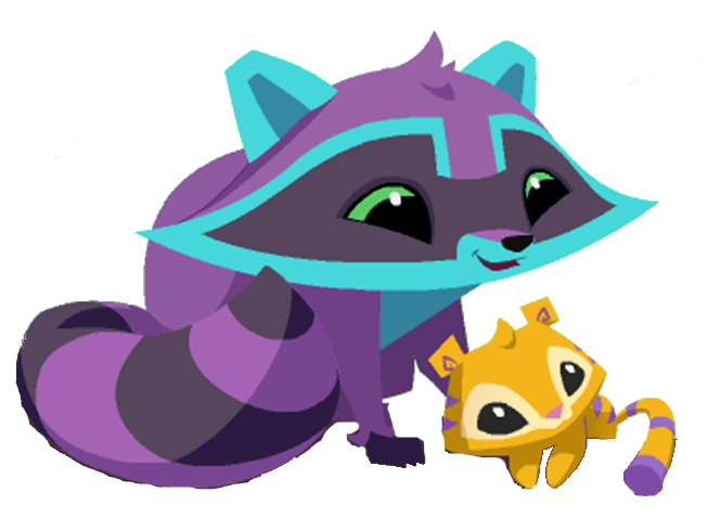 Animal Jam Tiger Drawings Raccoon And Tiger Graphic