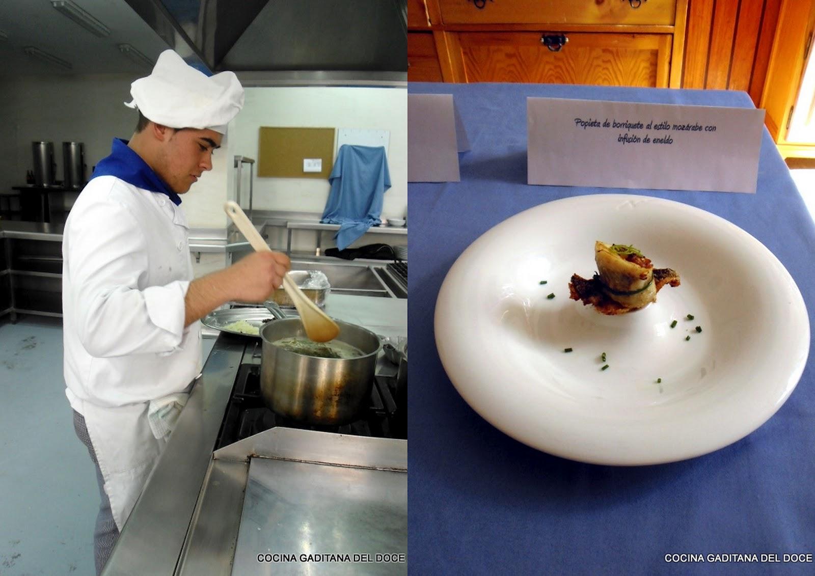 Cocina gaditana del doce concurso maritatas en escuela - Grado superior cocina ...