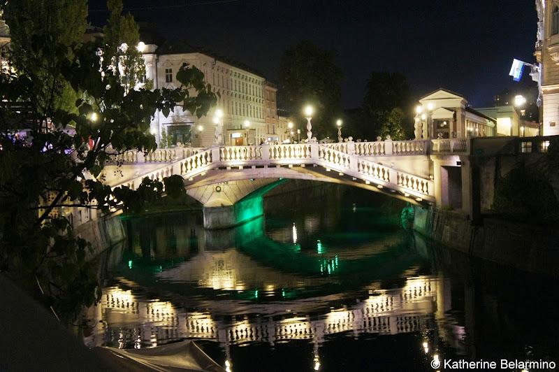 Triple Bridge Ljubljana Slovenia