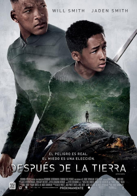 """Despues de la Tierra"" con Will Smith y Jaden Smith"