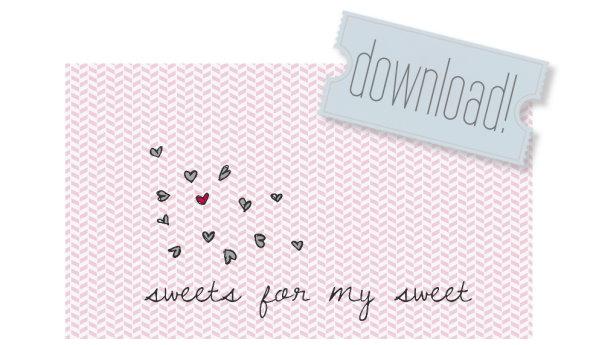 Valentinstag Vorlage kostenlos herunterladen