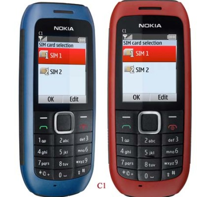 Nokia C1 & C2: Murah, Suguhkan Dual SIM Card