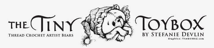 TheTinyToyBox Miniature Thread Artist Amigurumi Crochet Bears