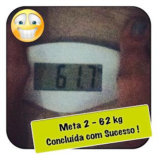 Meta 2 - 62kg! Concluida em 3 meses