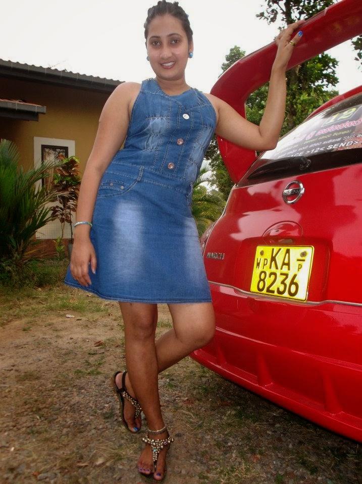 madhu nithyani blue dress