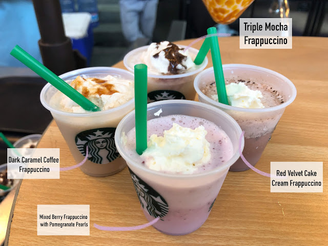 帕蒂·维加斯(Patty Villegas)-生活方式流浪者-菲律宾星巴克-Red Velvet-Triple Mocha-Dark Caramel Coffee-Mixed Berries-Frappuccino