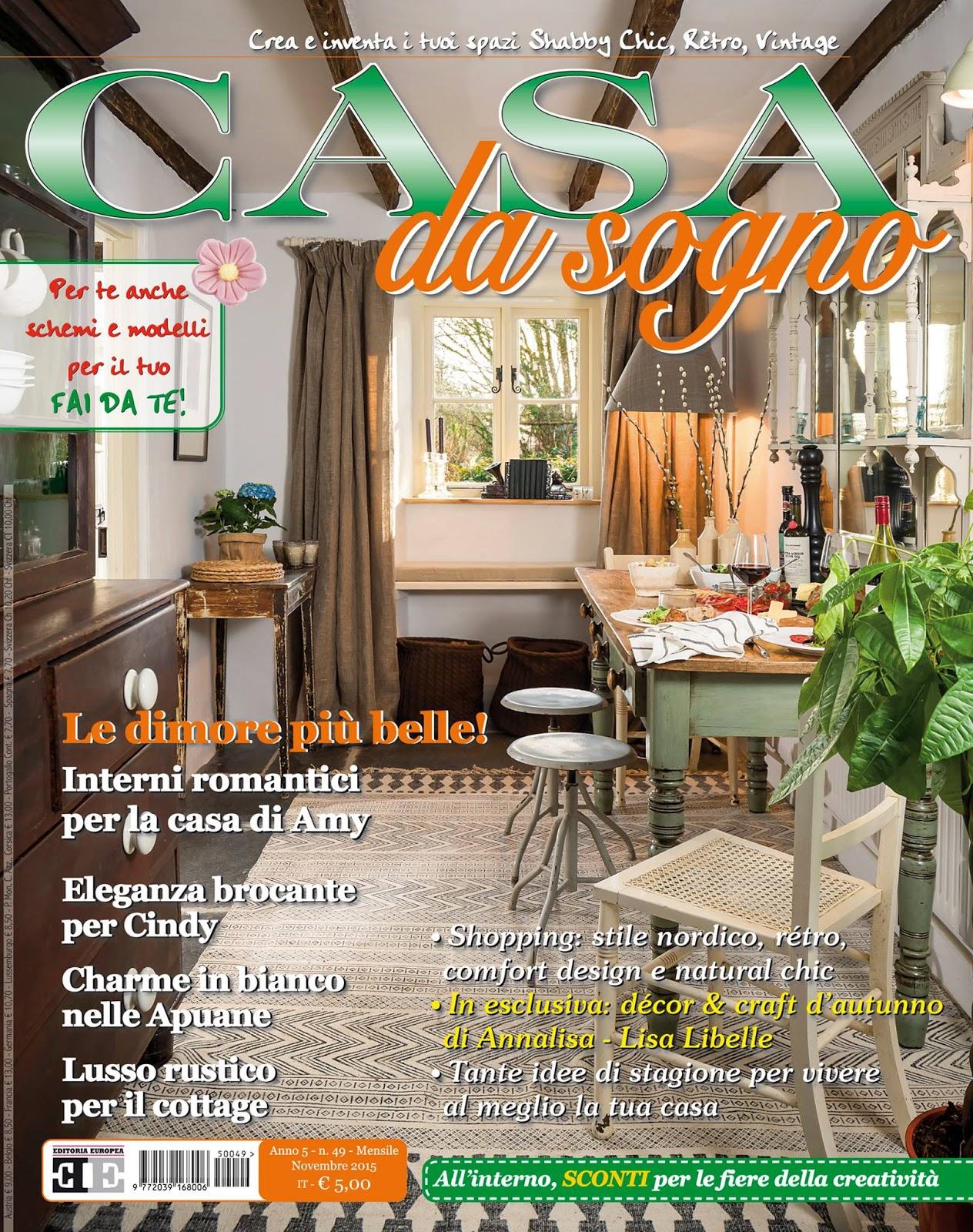Maison decor my home 39 s feature in italy 39 s casa da sogno for Casa magazine