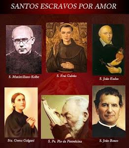 Esses santos já se consagraram à Jesus por Maria Santíssima...
