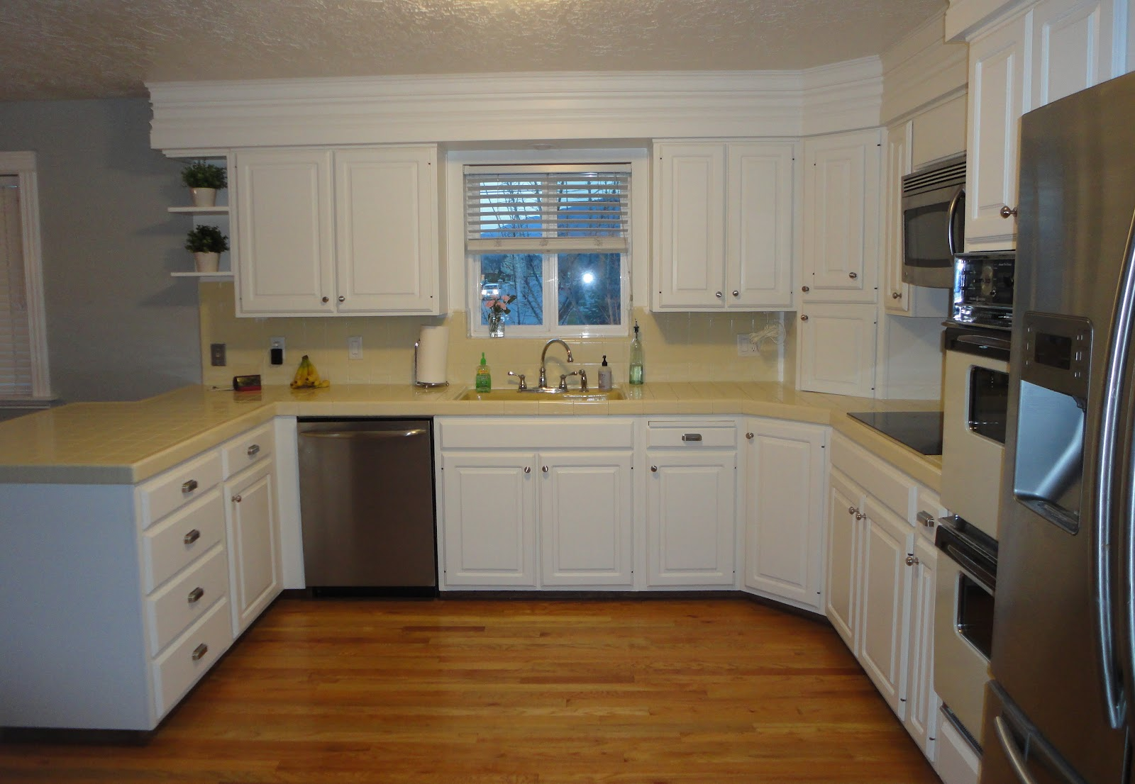 The glamorous Before and after kitchen remodels dark cabinet pics
