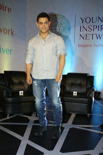 Aamir Khan at Young Inspirators Network Launch Event