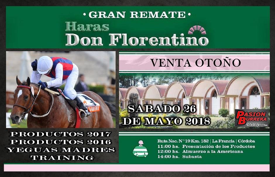 REMATE DON FLORENTINO - 26 MAYO