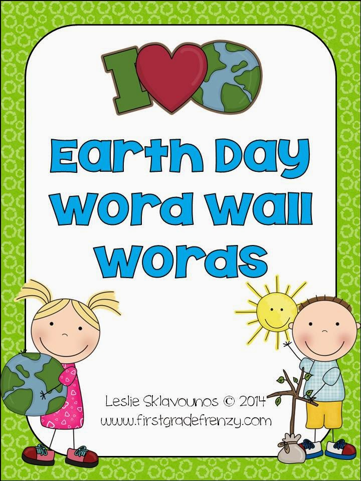 http://www.teacherspayteachers.com/Product/Earth-Day-Word-Wall-1179408