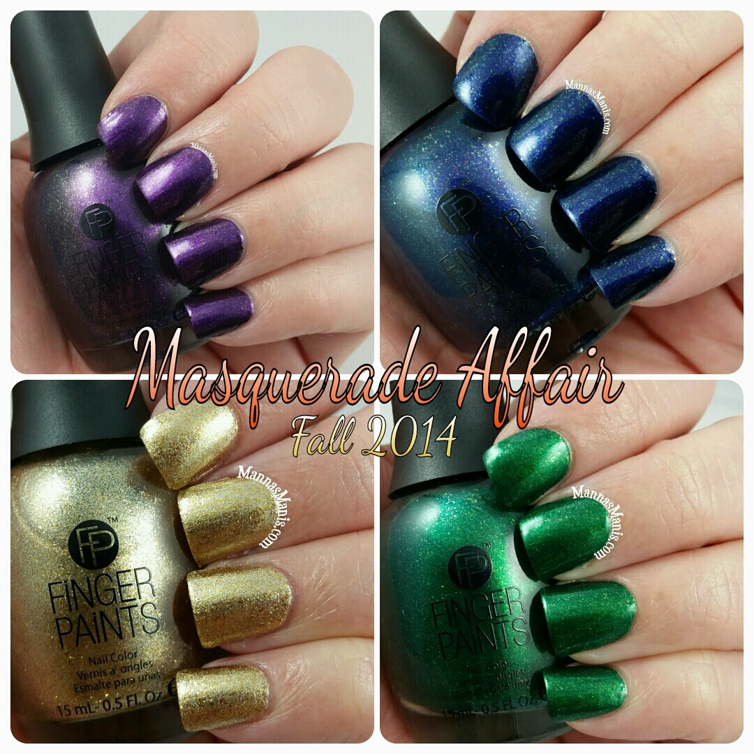 fingerpaints masquerade affair nail polish collection