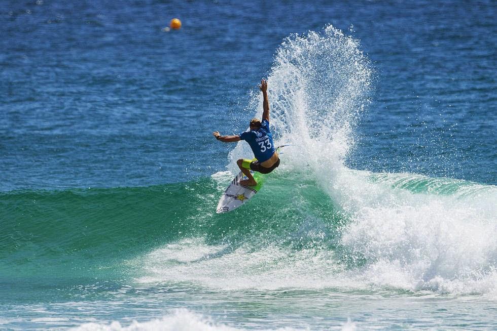 73 Quiksilver Pro Gold Coast 2015 Bede Durbidge Foto WSL Kelly Cestari