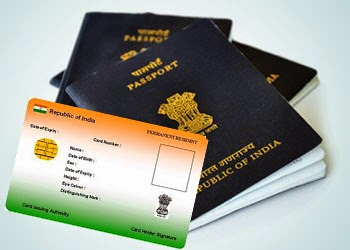 Aadhar card online application for Passport