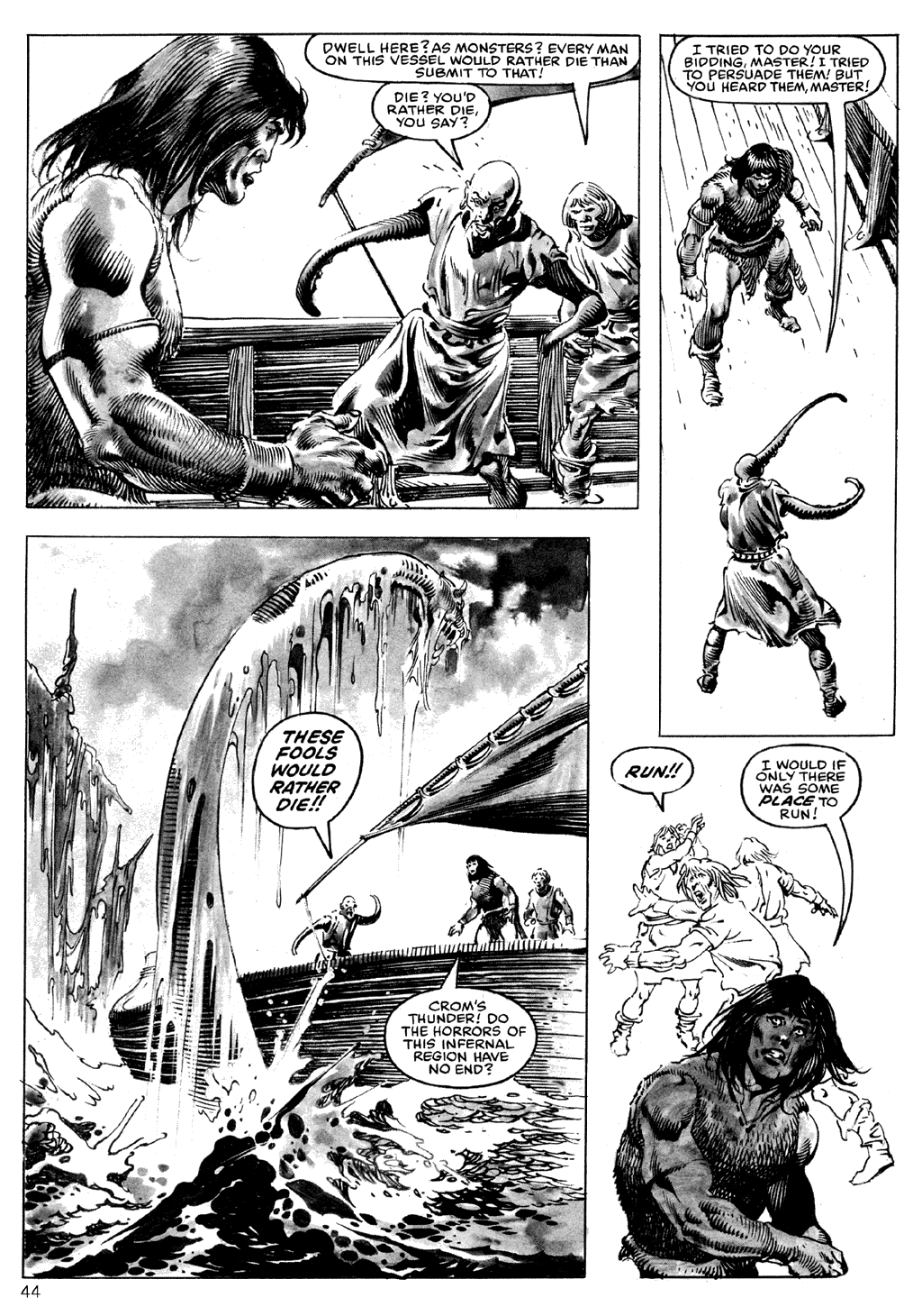 The Savage Sword Of Conan Issue #101 #102 - English 44