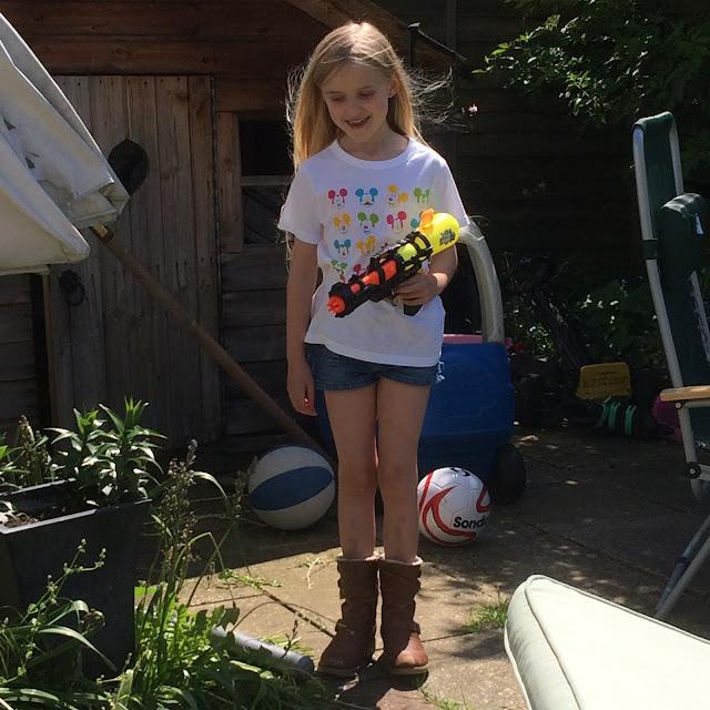 girl with water gun Winx Club Fairies review