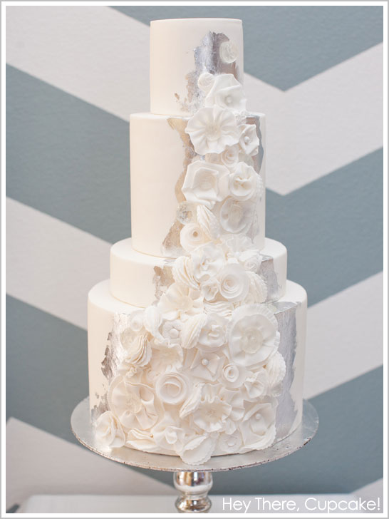 Silver Leaf Cakes