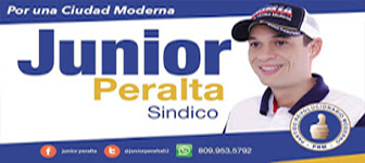JUNIOR PERALTA EL SINDICO QUE NAGUA NECESITA