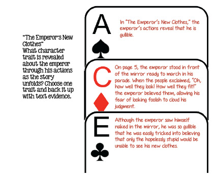 ace method for constructed response