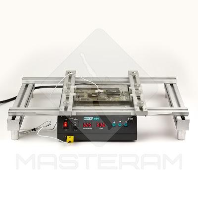 Столик Tornado для фиксации печатной платы над преднагревателем плат Quick 854
