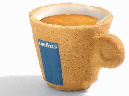 Tazas Comestibles de Cafe, Soluciones Sostenibles