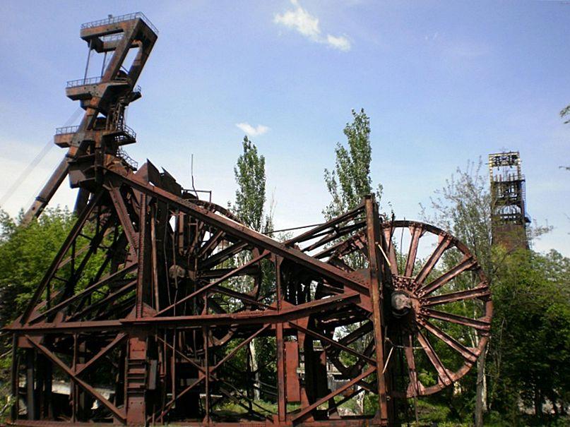 копер шахтный фото