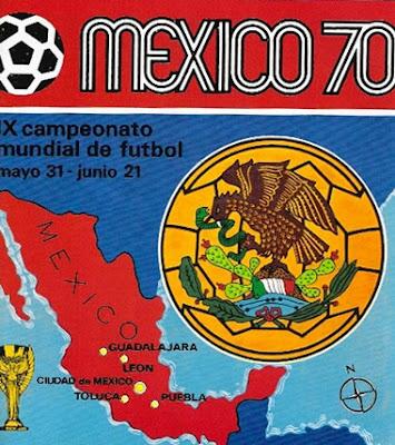 carte Mundial México 1970