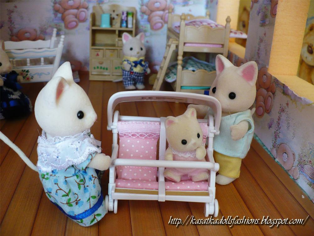 Игровой кукольный домик своими