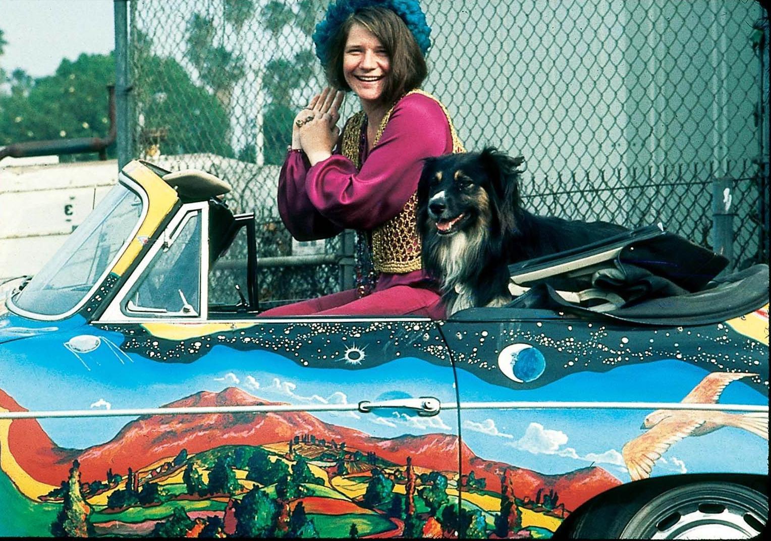 Clasp garage rockstars 39 garage janis joplin psychedelic for Janis joplin mercedes benz