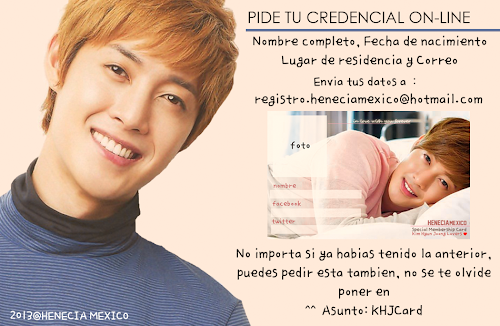 Registrate en Henecia Mexico!