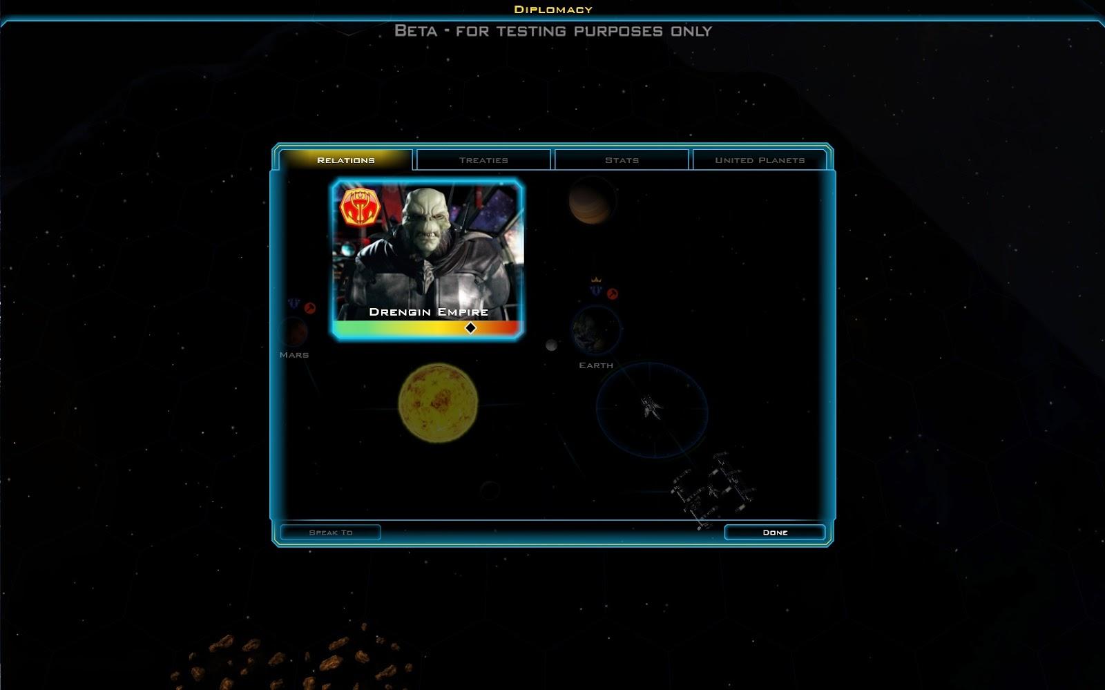Galactic Civilizations 3 Diplomatie