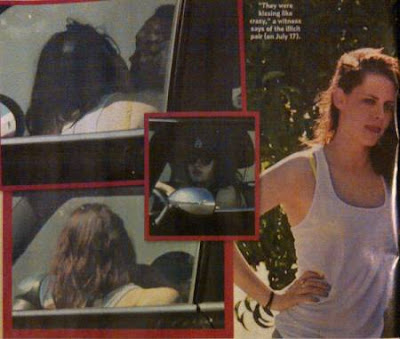 Kristen Stewart and Rupert Sanders caught on cam having a fling