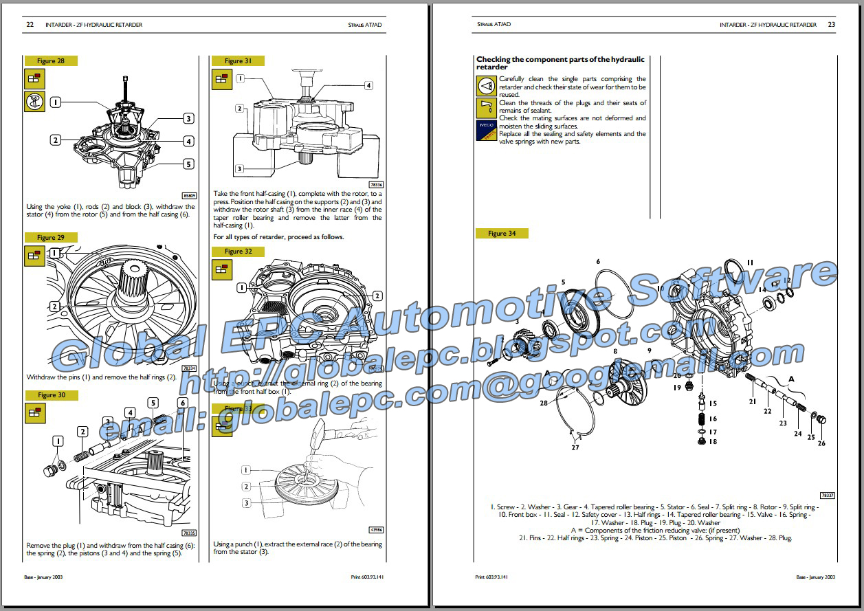 Iveco Stralis Repair Manual Wiring Diagrams Automotive Repair - Data ...