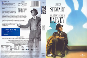 Carátula DVD:  El invisible Harvey 1950