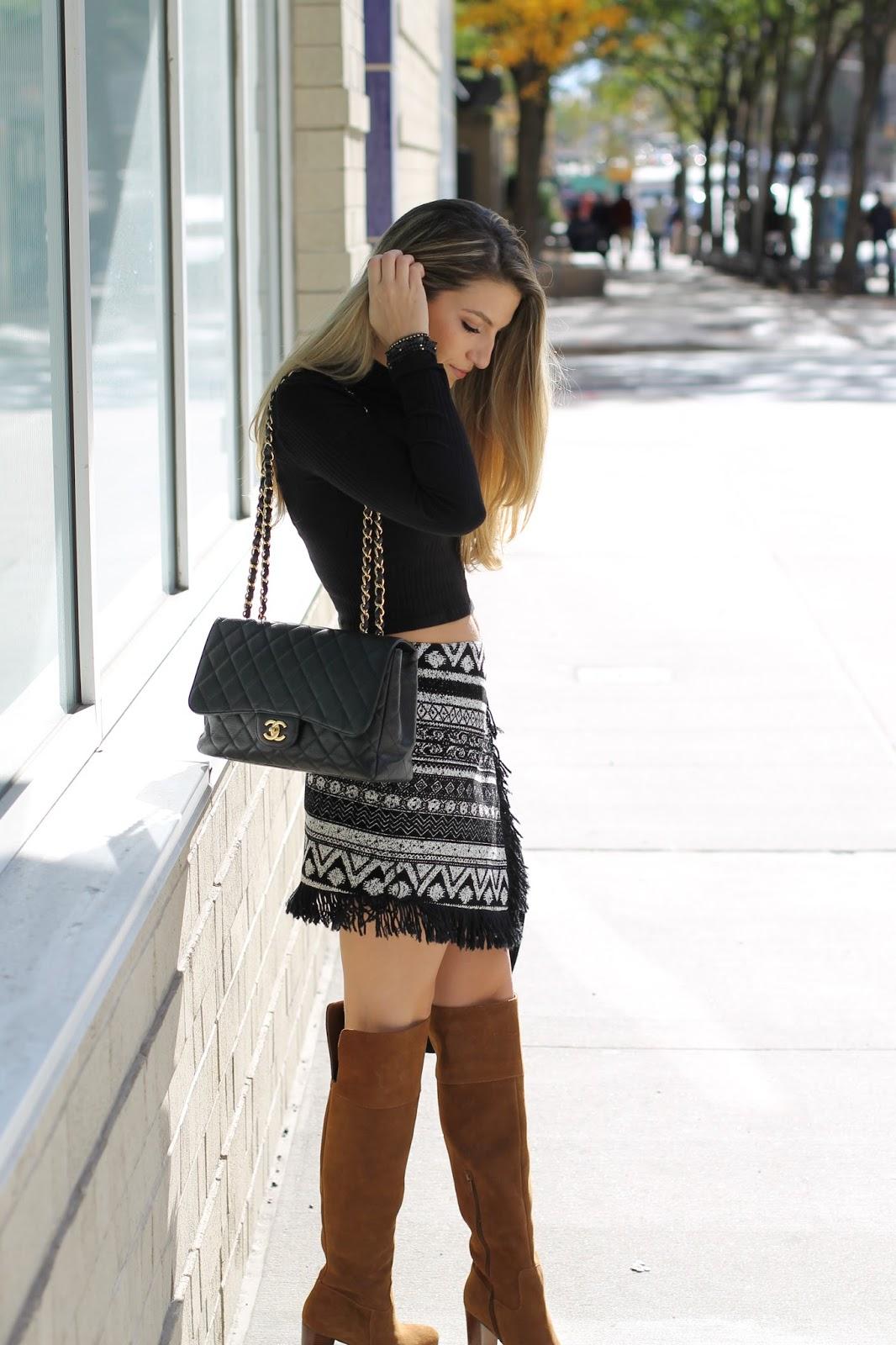black classic chanel flap 2015