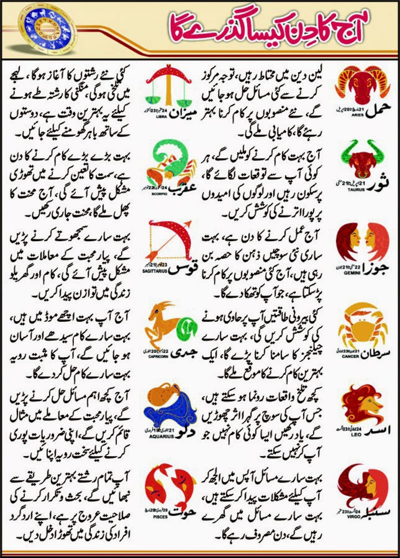 Libra February 2015 In Urdu Daily | Share The Knownledge Daily Horoscope