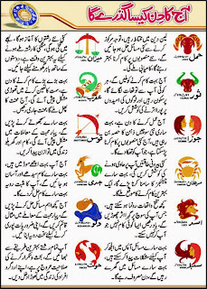 Daily Horoscope In Urdu 27 April 2015