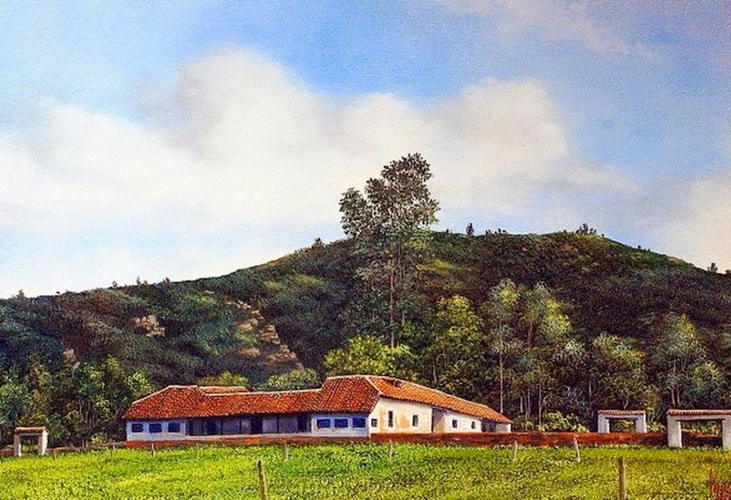 paisajes-con-casas-de-campo-cuadros-pintados-al-oleo