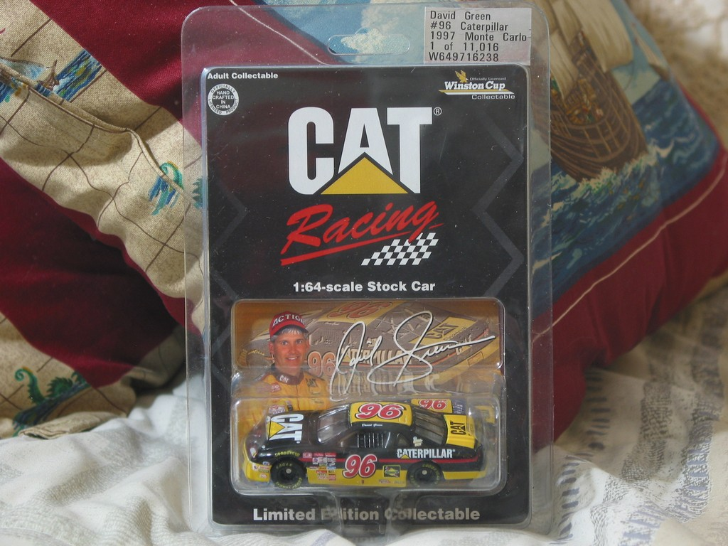 The First Appearance Of Caterpillar In Winston Cup