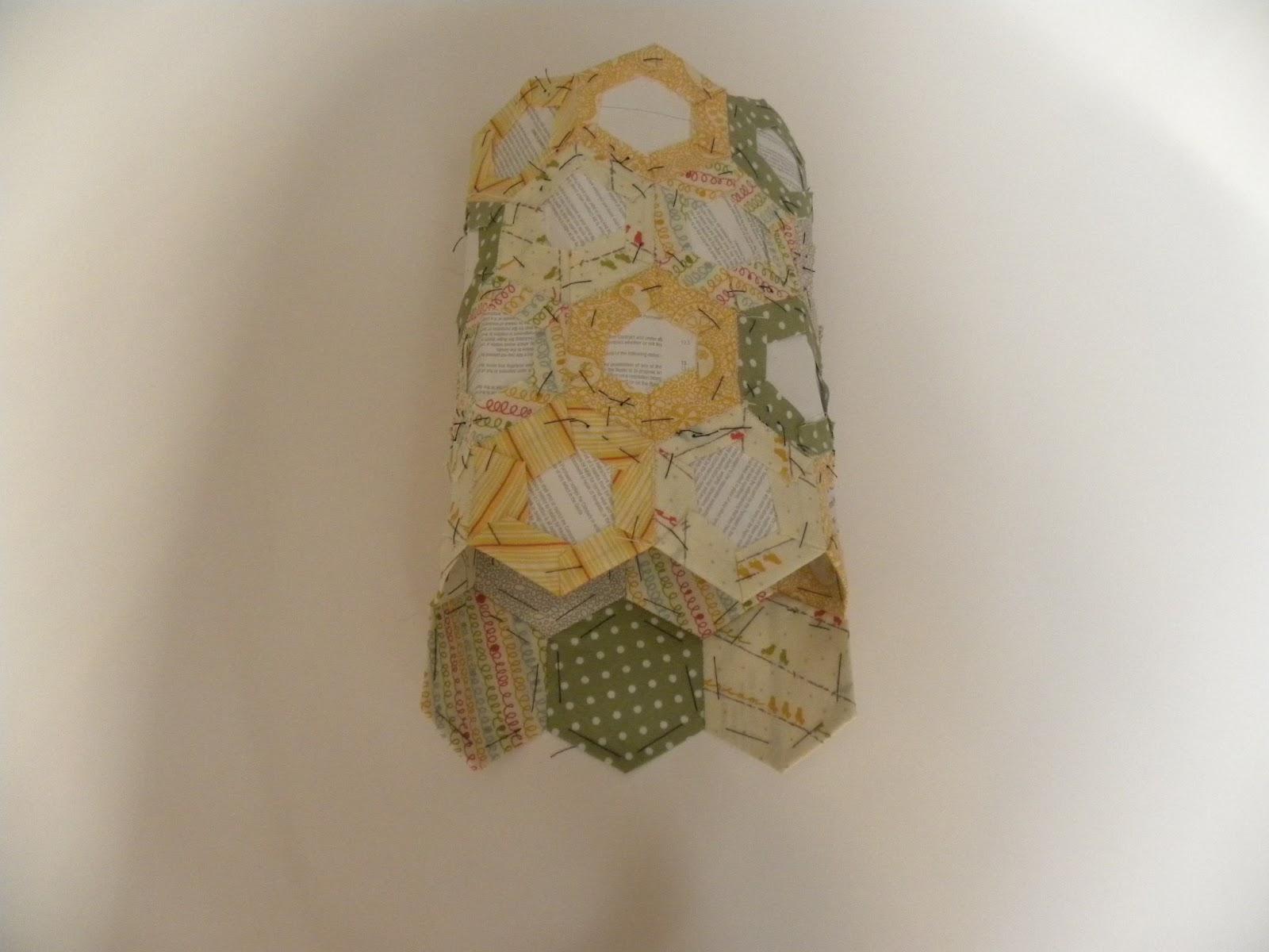 Becca Lou Creates Hexagon Patchwork iPad Mini Case Tutorial