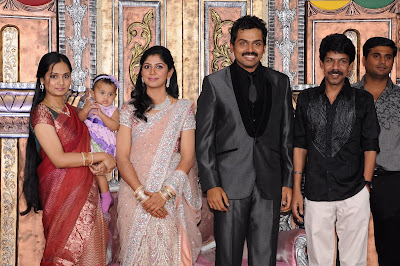 Karthi Wedding Reception Photos event pictures