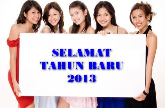 Kata Kata Ucapan Selamat Tahun Baru 2013 Terlengkap
