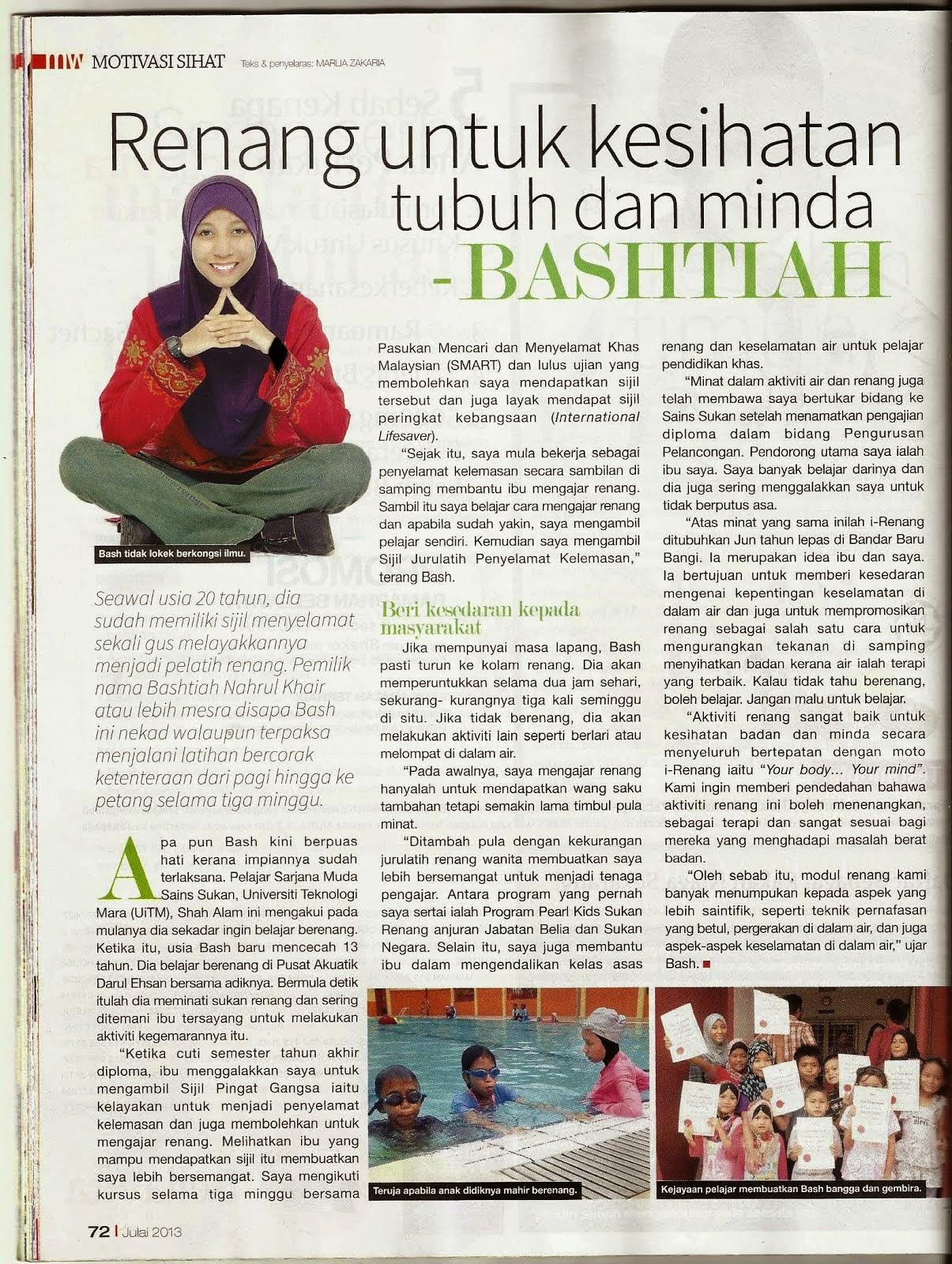 Majalah Mingguan Wanita- Motivasi Sihat