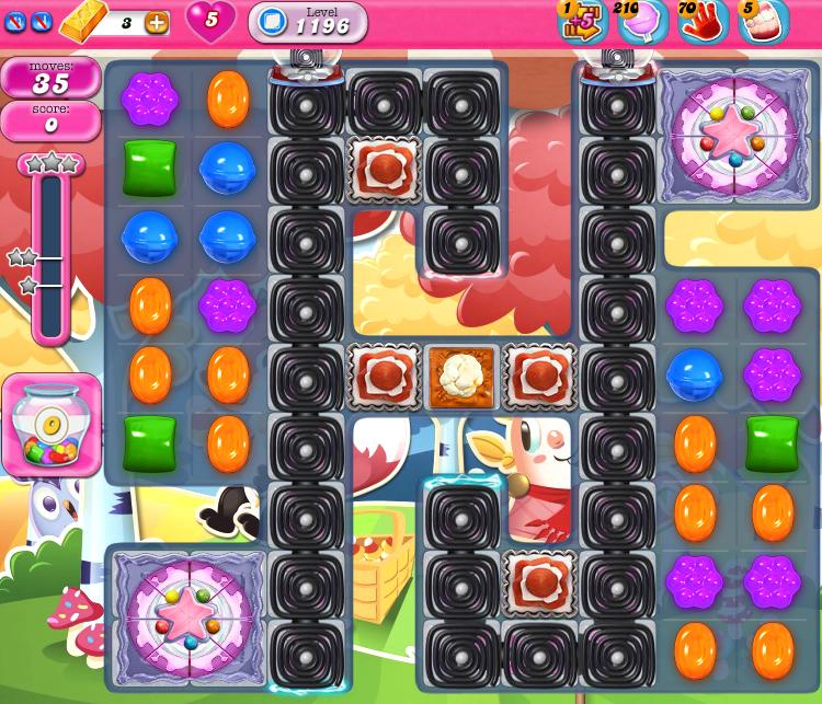 Candy Crush Saga 1196