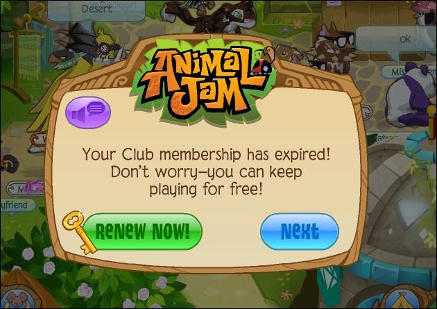 animal jam how to keep your member animals