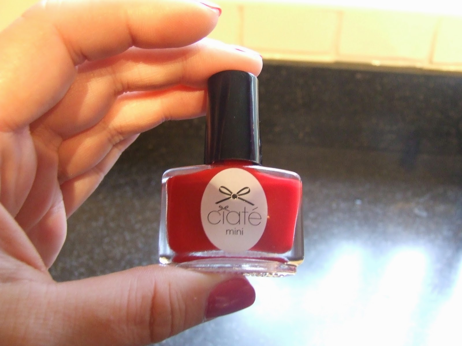 Shiny Fat Bows: Ciate Nail Polish - Boudoir.