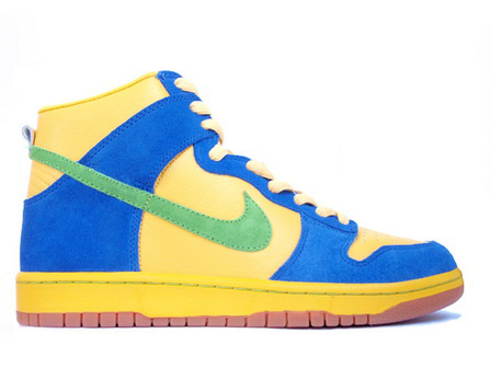 Marge Simpson Nike Dunk High Tops SB Sneaker For Sale Best Price