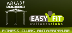 fitness centrum club ARCADE CENTER EASY FIT fitness groepslessen  Antwerpen Les Mills wellness zonnebank sauna